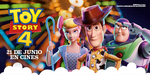 Banner Toy Story 4