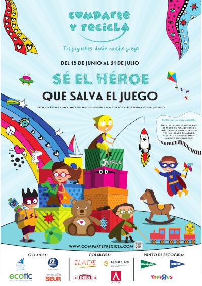 Imagen Cartel campaña Comparte y Recicla