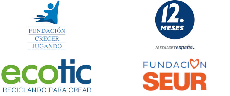 Logos Colaboradores de ComparteY Recicla