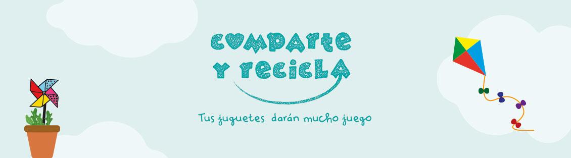 Banner Comparte y Recicla